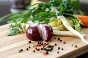 légumes d'hiver régime